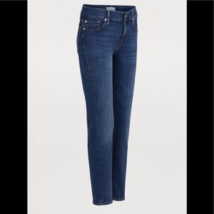 7 For All Mankind Roxanne cropped ankle jeans